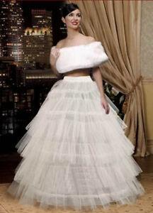 Vestiti Da Sposa Ebay.Sottogonna Crinolina Per Abito Da Sposa Tulle Matrimonio Festa