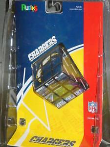Nfl Rubiks Cube San Diego Chargers New Ebay