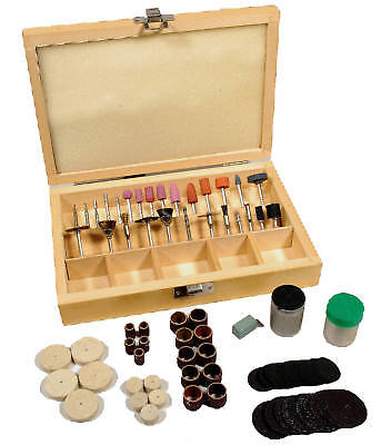 100 Piece Rotary Tool Accessory Wood Works With Dremel