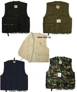 MULTI-POCKET-FISHING-HUNTING-SHOOTING-VEST-WAISTCOAT