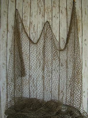 Authentic Used Nylon Fishing Net 5'x10' ~ Fish Netting ~ Nautical Decor