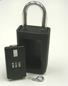 Realtor-Real-Estate-3-Letter-Combination-Lock-Box-NEW