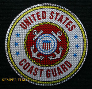 AUTHENTIC-12-XL-US-COAST-GUARD-STICKER-DECAL-USCG-L-K