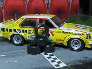 1-32-URETHANE-SLOT-CAR-TIRES-2pr-PGT-20104-fit-Scalextric-Torana