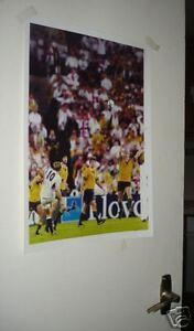 England Rugby World Cup Winners Jonny Wilkinson Poster