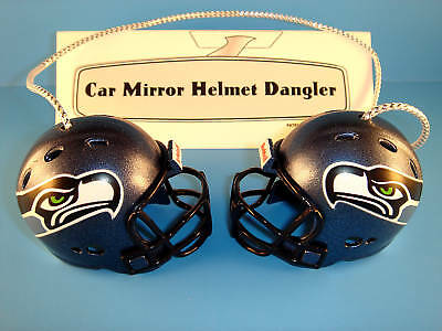 Seattle Seahawks Car House Nfl Football Helmet Knockers-hang From Anything