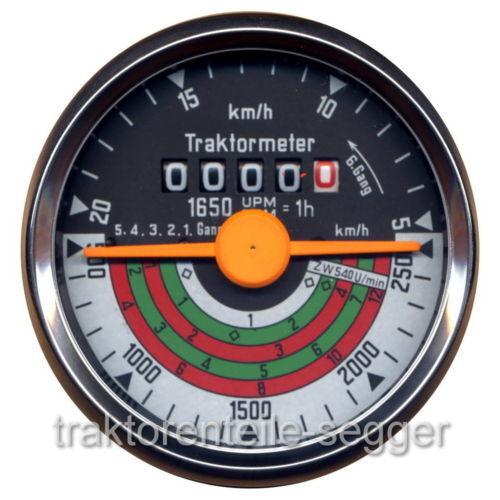 Traktormeter für Deutz D15  D 15 F1L712 Trecker Schlepper  Traktor 240 Foto 1