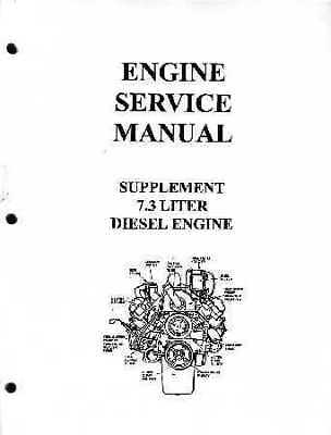 1988 1989 1990 1991 1992 1993 Ford 7 3 Diesel Engine Shop