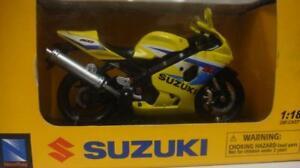 NEW RAY SUZUKI GSX-R600 2005 BIKE 1/18 67067