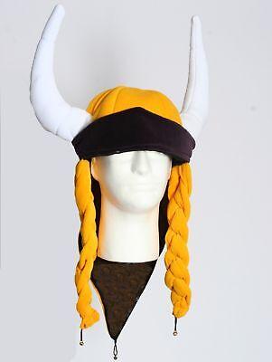 Minnesota Vikings Helga Hat With Braids And Horns