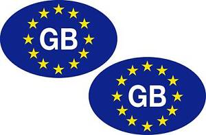 2-Euro-GB-oval-stickers-decals-FREE-1st-Class-Postage