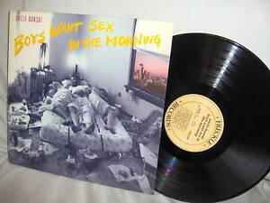 Uncle Bonsai Boys Want Sex In The Morning W Insert Lp Ebay
