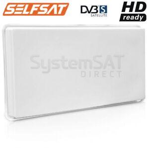 SELFSAT-SATELLITE-DISH-H30D4-FLAT-ANTENNA-QUAD-LNB