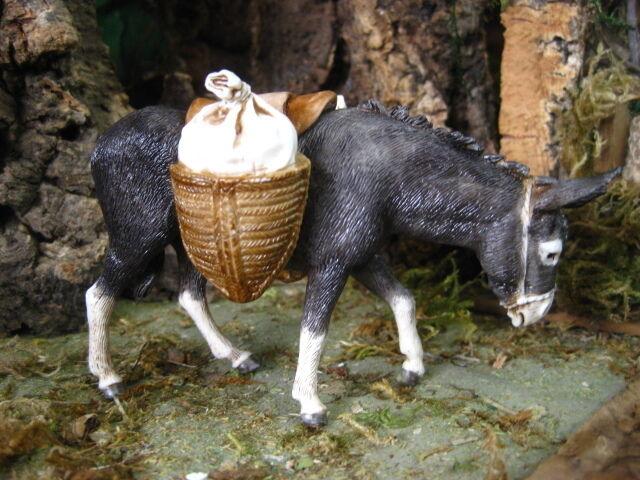 Donkey Animal Nativity Scene Figurine Landi Presepio Mula para Pesebre Burro