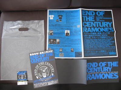 Ramones End of Japan Promo Book, Flyer for The Film