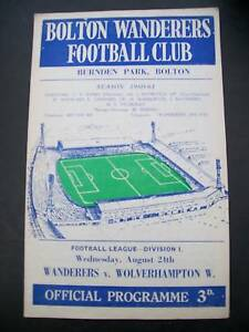 programme-Bolton-Wanderers-v-Wolves-24-08-1960