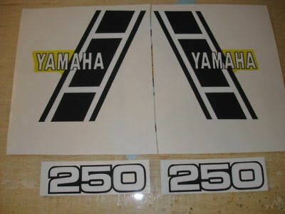 1983 Yamaha Yz250 Gas Tank And Side Panel Decals Ahrma