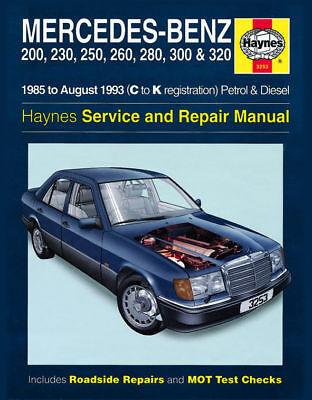 Mercedes-Benz W124 E 230E 280E 300E 320E Haynes Manual