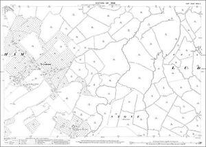 Teynham OS Kent 33-4-1908 old map repro