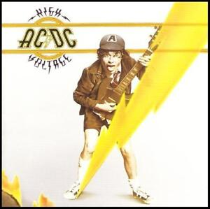 AC/DC - HIGH VOLTAGE D/Rem CD ~ BON SCOTT / ACDC / ANGUS YOUNG ~ 70's ROCK *NEW*