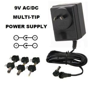 9 VOLT 3000 MA AC/DC POWER SUPPLY ADAPTER 9V 3A 9 V 3 A