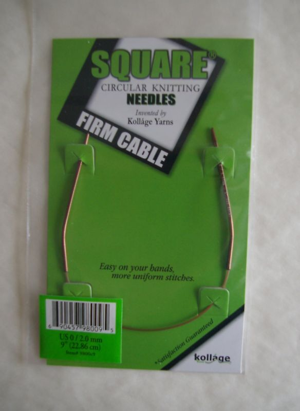 Kollage Square Circular Knitting Needles 9 Firm