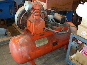 Devilbiss Model 230 Air Compressor 208 230 460v 3hp Ebay