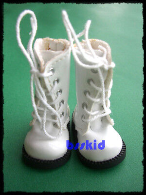 "SALE Blythe Pullip 1/6 12"" Doll WHITE Shoes Boot on Rummage"