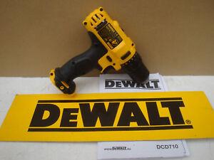 BRAND NEW DEWALT XR DCD710 10.8V DRILL DRIVER BARE UNIT