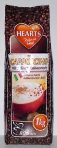 20 x 1kg Hearts Cappuccino mit feiner Kakaonote *3,35 € pro kg*