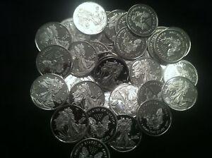 5 Stk. 999 Silbermünzen Silber Silver Eagle Liberty Lady Edelmetalle * RARITÄT *
