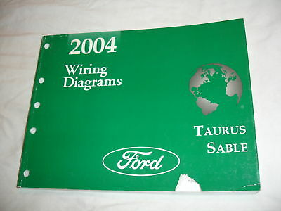 2004 Ford Taurus Sable Wiring Electrical Service Manual ...