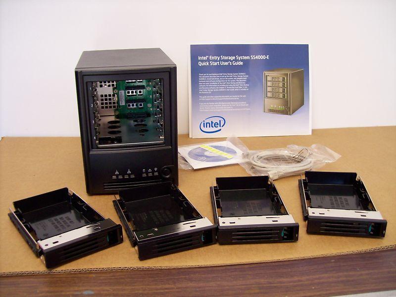 Intel Entry Storage System Ss4000 E Nas Server Ss4000e Ebay