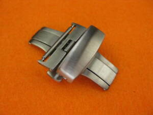 New-Top-Quality-20mm-DEPLOYMENT-Watch-CLASP-Folding-BUCKLE-Stainless-Brush-20