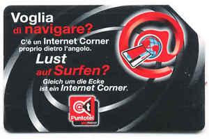 LUST AUF SURFEN SCHEDA TELEFONICA TELECOM BILINGUE 112 - Italia - LUST AUF SURFEN SCHEDA TELEFONICA TELECOM BILINGUE 112 - Italia