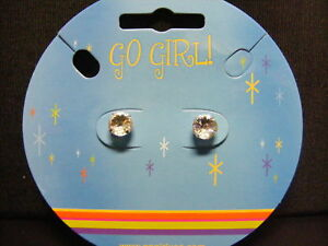 Go-Girl-Silver-8mm-Post-Classic-Stud-Earrings