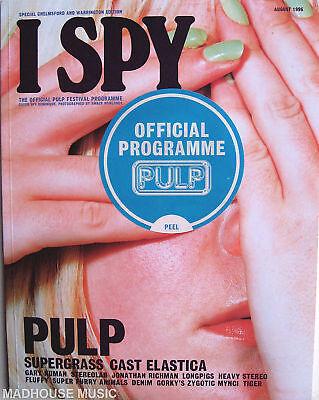 PULP Tour Programme 1996 I-SPY Chelmsford 58pg NEW ! STICKERED !