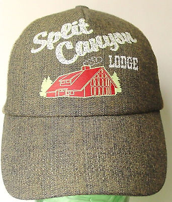 Cap   Split Canyon Lodge   Official Trucker Hat