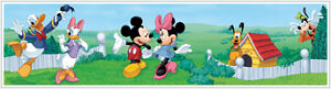 Mickey Mouse Clubhouse Wall Border Wallpaper Room Decor Peel and Stick Sticker