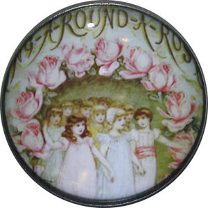 1-inch-Crystal-Dome-Nursery-Rhyme-Button-Ring-around-the-Roses-NR12
