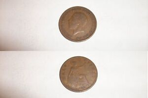 Half Penny Coin 1928 George V - <span itemprop=availableAtOrFrom>Lutterworth, Leicestershire, United Kingdom</span> - Half Penny Coin 1928 George V - Lutterworth, Leicestershire, United Kingdom