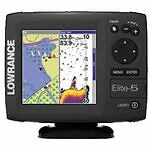 Lowrance Elite-5 Base GPS Receiver