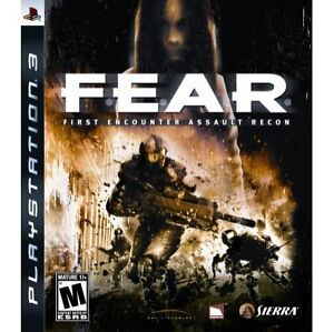 FEAR-1-F-E-A-R-PlayStation-3-PS3-Video-Game-Original-UK-Release-New-Sealed