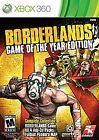 Borderlands: Game of the Year Edition [2011]  (Xbox 360, 2011) (2011)