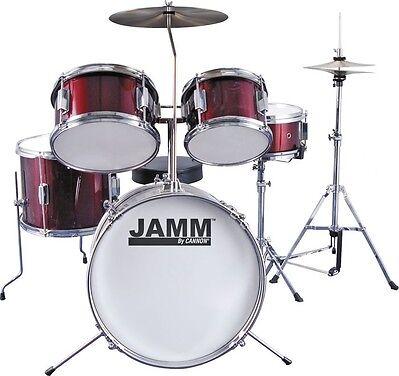 cannon jamm jr 5 piece drum set for sale online ebay. Black Bedroom Furniture Sets. Home Design Ideas