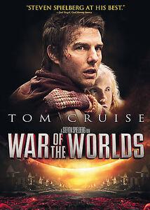 2005-War-of-the-Worlds-Tom-Cruise-Dakota-Fanning-H-G-Wells-Sci-Fi-NEW-DVD