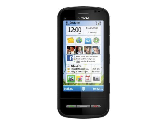 Nokia C Series C6-00 - Black (Unlocked) Smartphone