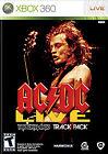 AC/DC Live: Rock Band Track Pack (Microsoft Xbox 360, 2008)