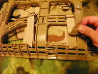 How to attach MOLLE II Rucksack Enhanced Shoulder Strap