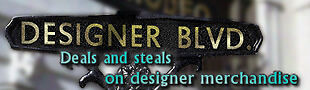 DESIGNER BLVD Deals and Steals